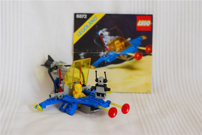 Lego Space 6872: Lunar Patrol Craft, Lego 6872, Jochen, Space, Radolfzell