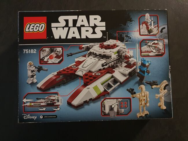 Lego Star Wars Republic Fighter Tank, Lego 75182, Nicola, Star Wars, Cape Town, Image 3