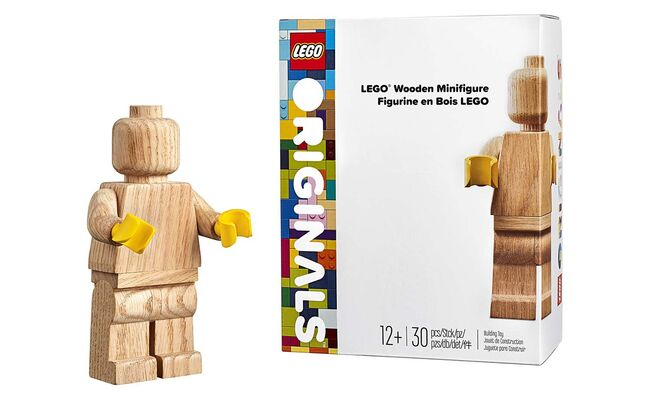 Lego Wooden Minifigure, Lego 853967, Creations4you, Sculptures, Worcester, Image 2