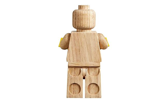 Lego Wooden Minifigure, Lego 853967, Creations4you, Sculptures, Worcester, Image 3