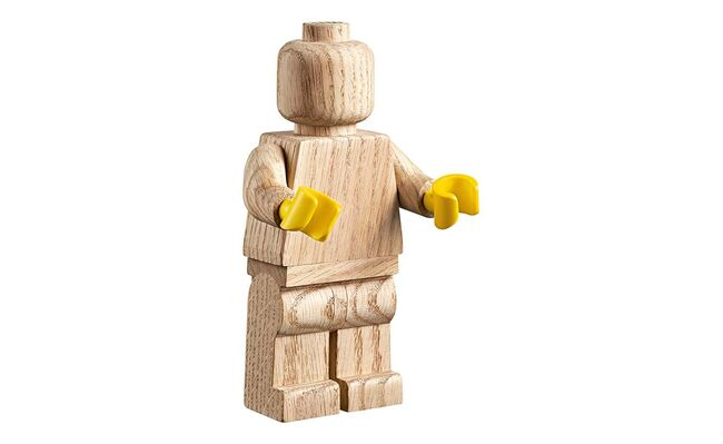 Lego Wooden Minifigure, Lego 853967, Creations4you, Sculptures, Worcester, Image 4