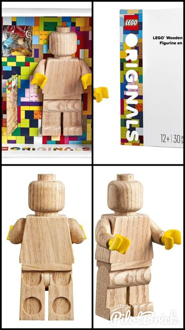 Lego Wooden Minifigure, Lego 853967, Creations4you, Sculptures, Worcester, Image 6