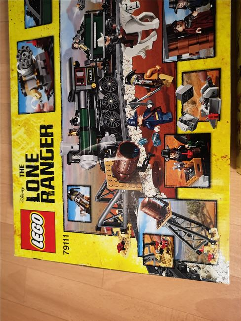 Lone Ranger set new sealed unopened, Lego 79111, Sven Vdm, other, Image 3