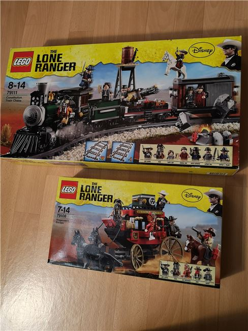 Lone Ranger set new sealed unopened, Lego 79111, Sven Vdm, other, Image 4