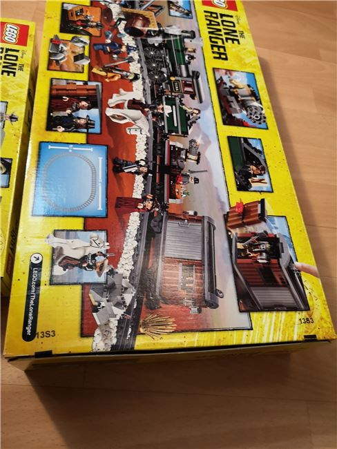 Lone Ranger set new sealed unopened, Lego 79111, Sven Vdm, other, Image 2