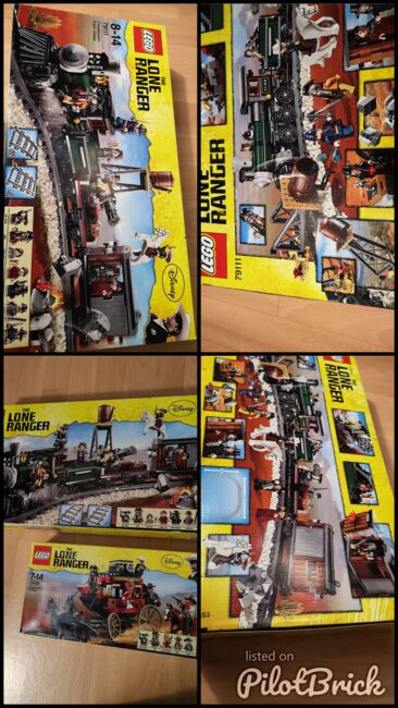 Lone Ranger set new sealed unopened, Lego 79111, Sven Vdm, other, Image 5