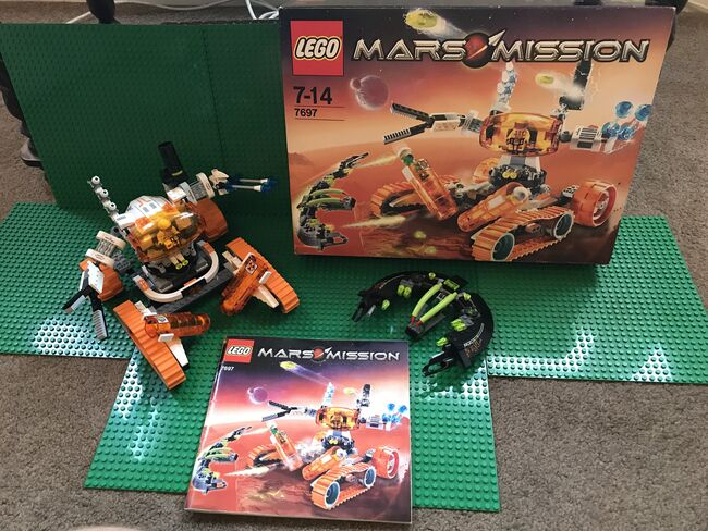 MT-51 Claw-Tank Ambush, Lego 7697, OtterBricks, Space, Pontypridd, Image 2