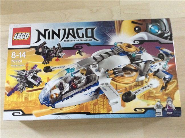 Ninja Copter , Lego 70724, Becca , NINJAGO, London