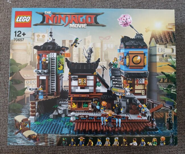 The Ninjago City Docks, Lego 70657, Tracey Nel, NINJAGO, Edenvale