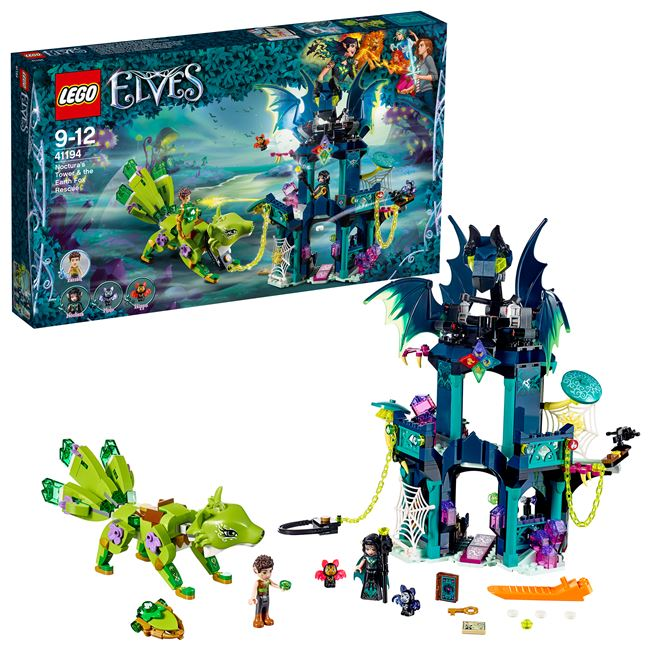 Noctura's Tower & the Earth Fox Rescue, LEGO 41194, spiele-truhe (spiele-truhe), Elves, Hamburg, Abbildung 3