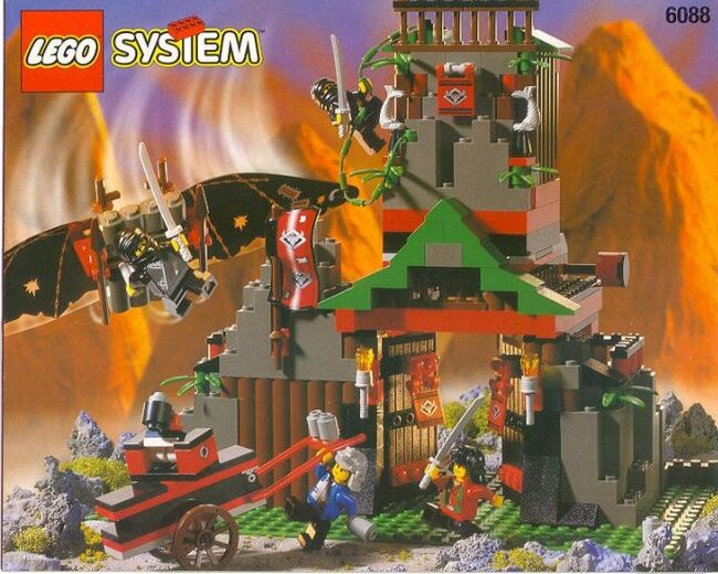 Robber's Retreat, Lego 6088, Creations4you, NINJAGO, Worcester