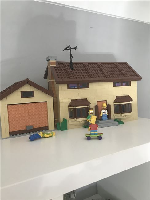 Simpsons house, Lego 71006, Philip symes , other, Swindon