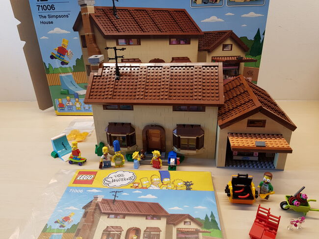 The Simpsons House, Lego 71006, Mitja Bokan, Town, Ljubljana