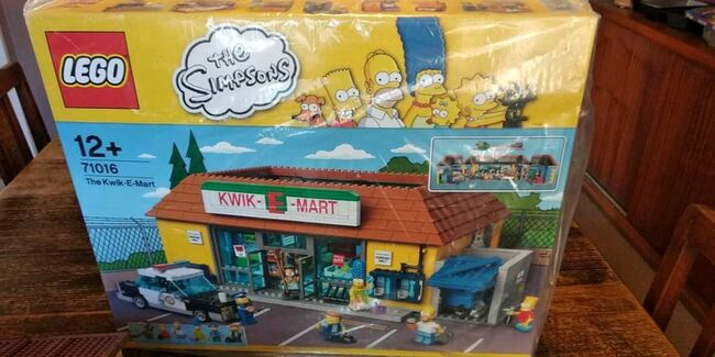 The Simpsons Kwik-E-Mart, Lego 71016, Gregory Bennett, Town, Port Elizabeth