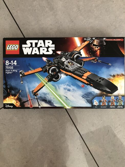 Star Wars Poe's X Wing Fighter, Lego 75102, Julie Rowe , Star Wars, Cannock, Image 2