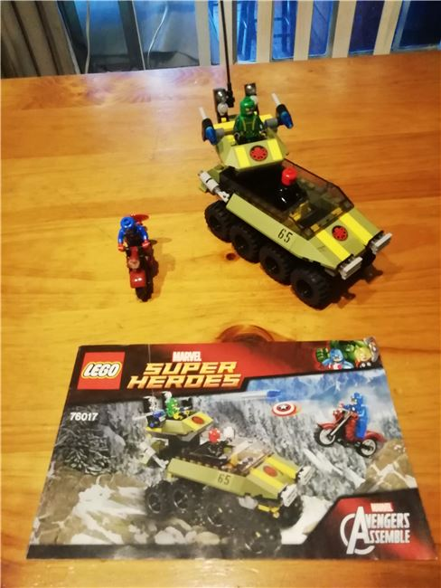 Super Heroes Captain America vs Hydra, Lego 76017, Laura, Super Heroes, Cape Town, Image 2