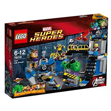 Super Heroes - Hulk Smash Lab, Lego 76018, Laura, Super Heroes, Cape Town