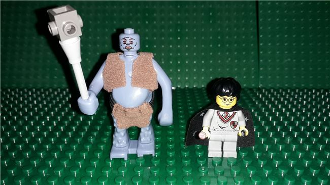 Troll on the Loose Harry Potter Sorcerer's Stone, Lego 4712, OtterBricks, Harry Potter, Pontypridd, Image 3