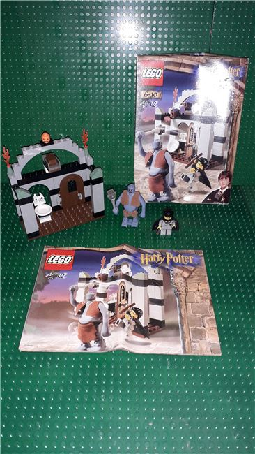 Troll on the Loose Harry Potter Sorcerer's Stone, Lego 4712, OtterBricks, Harry Potter, Pontypridd