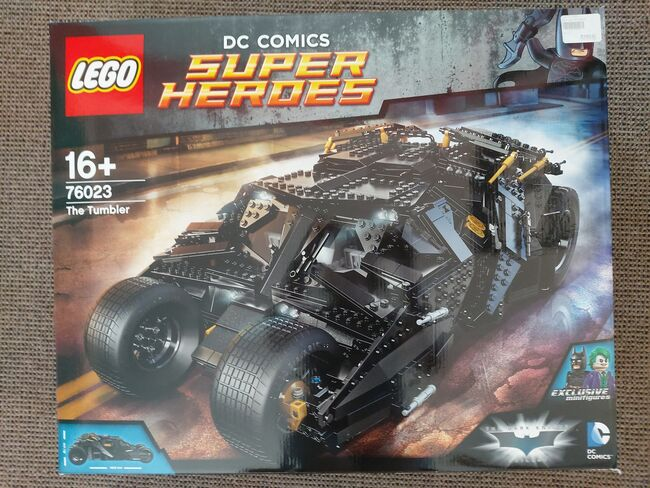 The Tumbler, Lego 76023, Tracey Nel, Super Heroes, Edenvale