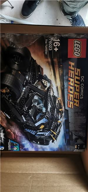 The Tumbler, Lego 76023, Dave, Super Heroes, Wilmslow