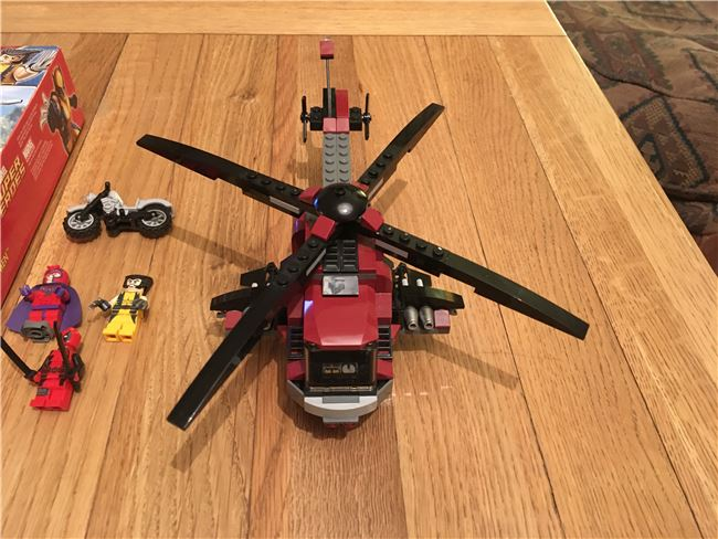 Wolverines Chopper Showdown, Lego 6866, James, Marvel Super Heroes