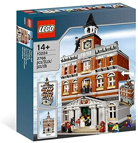 WTS Lego 10224, Lego Lego 10224 Town Hall, Jun Wei William Tan, Modular Buildings, Singapore