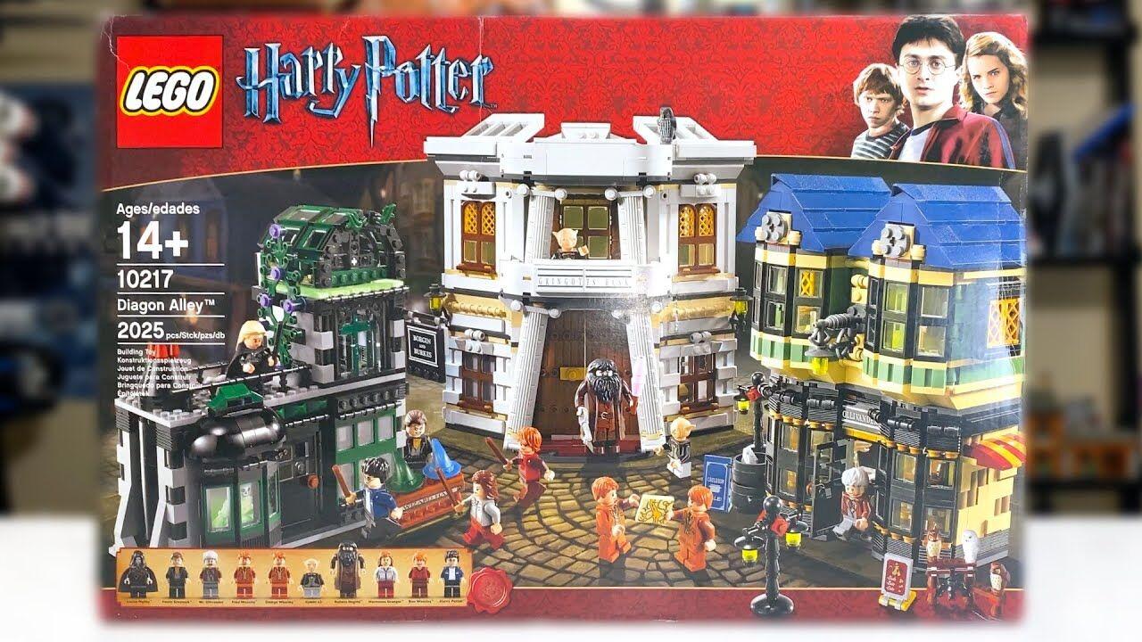 ᐅ newnib set ⇒ lego 10217 harry potter diagon alley from