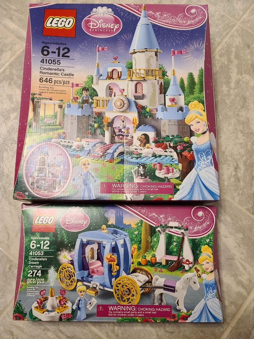 LEGO Disney Princess 41055 Cinderella/'s Romantic Castle NEW
